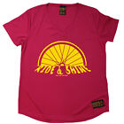 Ladies Cycling Ride And Shine Breathable top átee T SHIRT DRY FIT V NECK T-SHIRT