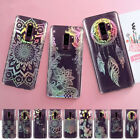 For Samsung Galaxy S9 Plus J7 A8 2018 Laser Flower Glossy Soft Rubber Case Cover