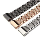 For Fitbit charge 2 /2HR Bling Band Strap Stainless Steel Diamond Bracelet Watch image