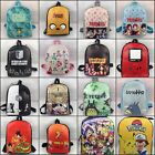 Lot Student School Bags Girl Backpack Anime women Shoulder Fashion Bags Gift
