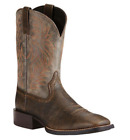 NEW Ariat Men's Sport Western Brooklyn Brown/Ashes Boots 10019958 - Option sizes