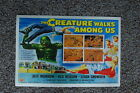92992 The Creature Walks Among Us Jeff Marrow Decor WALL PRINT POSTER UK