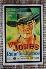 93655 Ridin for Justice Lobby Card Buck Jones Riding Decor WALL PRINT POSTER AU