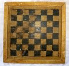 Antique Wooden Chess Board With Chinece Checkers Board Collectible Must See