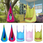 80KG Kids Indoor Outdoor Swing Seat Hanging Hammock Cushion Chair Playhouse Toy