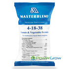 MASTERBLEND Official 4-18-38 Tomato & Vegetable Fertilizer BULK