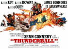 100655 Thunderball Movie Collector Decor WALL PRINT POSTER CA $18.63 USD on eBay