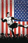 103322 USA Soccer Player National Team Sports Decor WALL PRINT POSTER CA