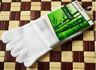 Hot High Quality Men's Five Fingers Toe Sports Cotton Bamboo Fibre Socks 5pairs