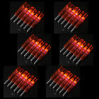 6/12/24/36PCS Hunting Red LED Lighted Arrow Nock Tail for 6.2mm Shaft Archery