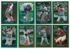 2012 Bowman Chrome GREEN REFRACTOR Parallel Single Card #187-217 Rookie RC Ref