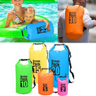 2L-30L PVC Waterproof Dry Bag Sack for Canoe Floating Camping Boating Kayaking