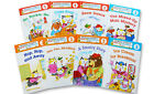 Richard Scarry 8 Schoolhouse Hardcover Readers  Level 1-3 Cake Soup,Go Huckle +