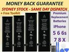 For Genuine Phone 6 / 6s / Plus 7 8 5s OEM internal Battery Replacement +Tools