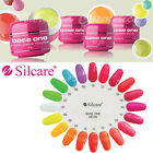 Silcare Base One NEON Colour UV Gel Polish Pots Nails ACID FREE Hybrid Manicure