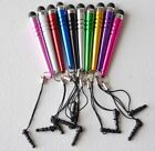 STYLUS PENS touch capacitive FOR apple iPhone X 8 7 6 5 4s Samsung s7 note 8 Lg