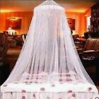 UK Modern Lace Bed Mosquito Netting Mesh Canopy Princess Round Dome Bedding Net