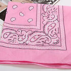 Paisley Bandana Head Scarf Cotton Wrap Neck Scarf Wristband Handkerchief
