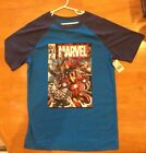 Brand New - Marvel Agengers T-Shirt - Youth XL 14-16 Blue