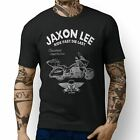 JL Ride Victory Cross Country Tour inspired Motorbike Art T-shirts