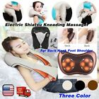 Electric Shiatsu Kneading Massager Heat Therapy For Back Neck Foot Shoulder AS