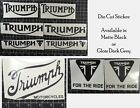 "Triumph Motorcycle Sticker Decal 6"" £3.79 GBP on eBay"
