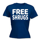 Womens Funny T Shirt - Free Shrugs - Birthday tee Gift Novelty tshirt T-SHIRT