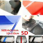 Car Hood Accessories Carbon Fiber Stripe 5D Sticker Cover Reflective Vinyl Decal $11.85 USD on eBay
