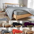 Teddy Fleece Luxury Duvet Covers Cosy Warm Soft Bedding Sets / Fitted Sheets LW image