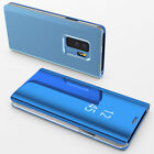 For Samsung Galaxy Note 4 5 8 Wallet Leather Cover Flip Window View Phone Case