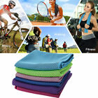 Absorbent Microfiber Sweat Towels Gym Workout Fitness Towel Dry Cooling Sports image
