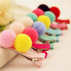 2/5/10 Pcs Cute Balls Hair Clips for Girls Kids Hair Accessories Random Chic RDR