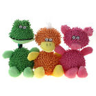 Mop Plush Animal Family with Rope Squeaky Dog Stuffed Toy Puppy Play WONPET