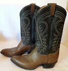 TONY LAMA mens Western brown leather cowboy BOOTS SHOES size 9.5D  G195