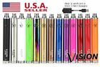 Vision 2 Spinner II 1650mAh 510 Variable Voltage Battery Buy 2 Get USB Charger  <br/> USA Seller - Fast free delivery to arrive in just days