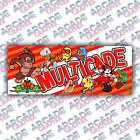 Top Holiday Gifts Multicade Donkey Kong Series Arcade Cabinet Game Graphic Artwork Marquee
