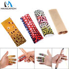 Maxcatch 12pcs Fly Fishing Stripping Guards Fish Skin Pattern Finger Protect