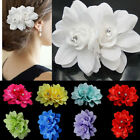Red White Flower Hair Pin Clip Pin Hairband Bridal Wedding Party for Women Girls