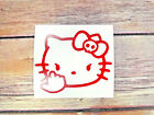 Hello Kitty Middle Finger Decal Sticker Car Home Windows Colors Sizes Available