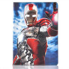 Cool Kids Super Hero Leather Stand Case Cover For iPad 2 3 4 5 6 7 Air Mini Pro