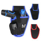 Electrician Portable Canvas Electrician Drill Holder Tool Kit Waist Bag Newly