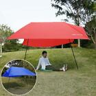 Outdoor Tent Shelter Camping Beach Sun Shade Wind Protable 9.8 x 9.8ft
