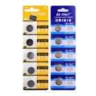 Toy For Watch Coin Cell CR1025 CR1225  CR2025 CR2430 Button Batteries 3V 5pcs