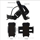 Motorcycle Bike Cell Phone Mount Holder 5V 2.4A USB Charger Power Switch