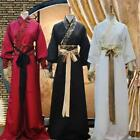 Chinese Ancient Swordsman Mens Clothes Scholar Hanfu Costume Cosplay S4 fashions
