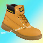 WORKFORCE WF 301 SBP HONEY LEATHER SAFETY BOOTS STEEL TOE WORK BOOTS UK 6-12