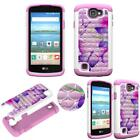 Hybrid Crystal for LG Zone 3 Ultra Shock Proof Thin Case Bling Case Dual Layer