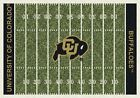 Colorado Buffaloes NCAA Home Field Indoor Area Rug