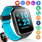 Qiwoo Fitness Tracker Smart Watch Phone with Blood Pressure Heart Rate Monitor