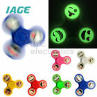 Smile Face Emoji Fidget GlowLeuchtend Hand Spinner For Autismus and ADHD